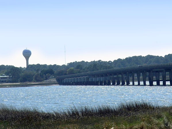 Fripp Inlet Bridge